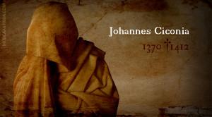 Música de JOHANNES CICONIA, uno de los compositores más importantes de finales de la Edad Media