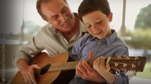 Si quieres un hijo listo, quítale el IPAD y que coja una guitarra