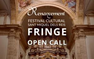 El Festival Renaixement de Valencia lanza una convocatoria para la programación de 2020