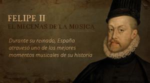 Música y músicos del rey Felipe II
