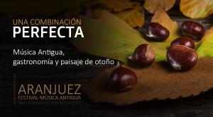 Música, gastronomía y paisaje de otoño