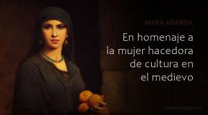 Mujeres que hacían y difundían la cultura desde la Edad Media