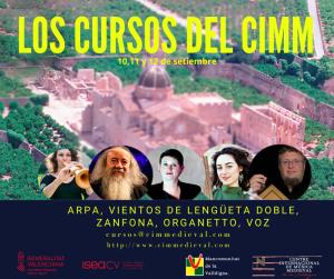 La más refinada cultura medieval, identidad europea durante un milenio, se cita en el primer curso internacional de música medieval en la Valldigna